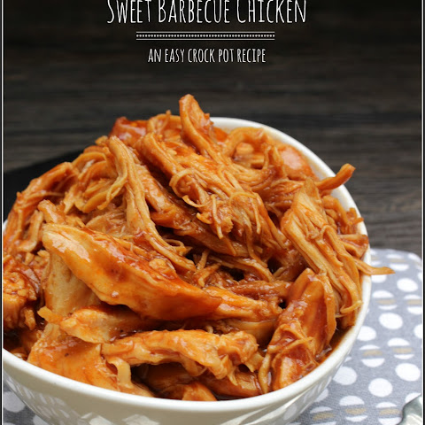 Best Ever Sweet Barbecue Chicken