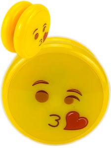 """Пружинка серии """"Город Игр"""" Йо-Йо светящийся, с подшипником, Смайлик воздушный поцелуй"""