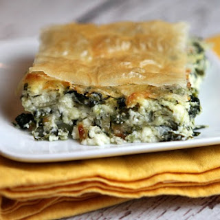 Greek Spinach Pie Without Phyllo Dough Recipes