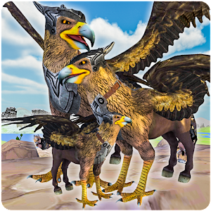 Wild Griffin Family Flying Eagle Simulator For PC / Windows 7/8/10 / Mac – Free Download