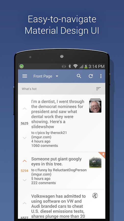 BaconReader Premium for Reddit Screenshot 0