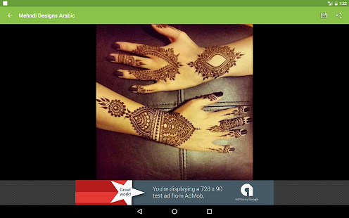 Arabic Mehndi Designs 2017- screenshot