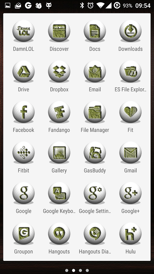 The Country Club IconPack Screenshot 4