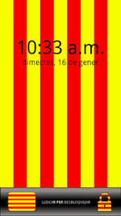 Catalunya Lockscreen FREE - screenshot