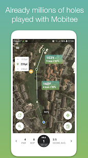 Mobitee™ Golf GPS for pc