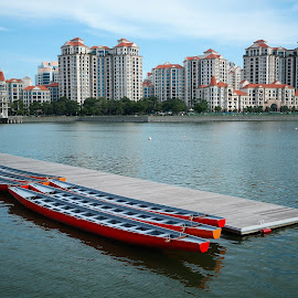 Kallang River by Koh Chip Whye - City,  Street & Park  City Parks