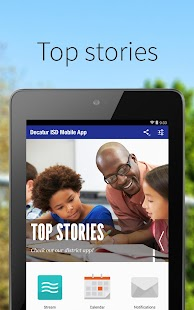 Decatur ISD Mobile App - screenshot