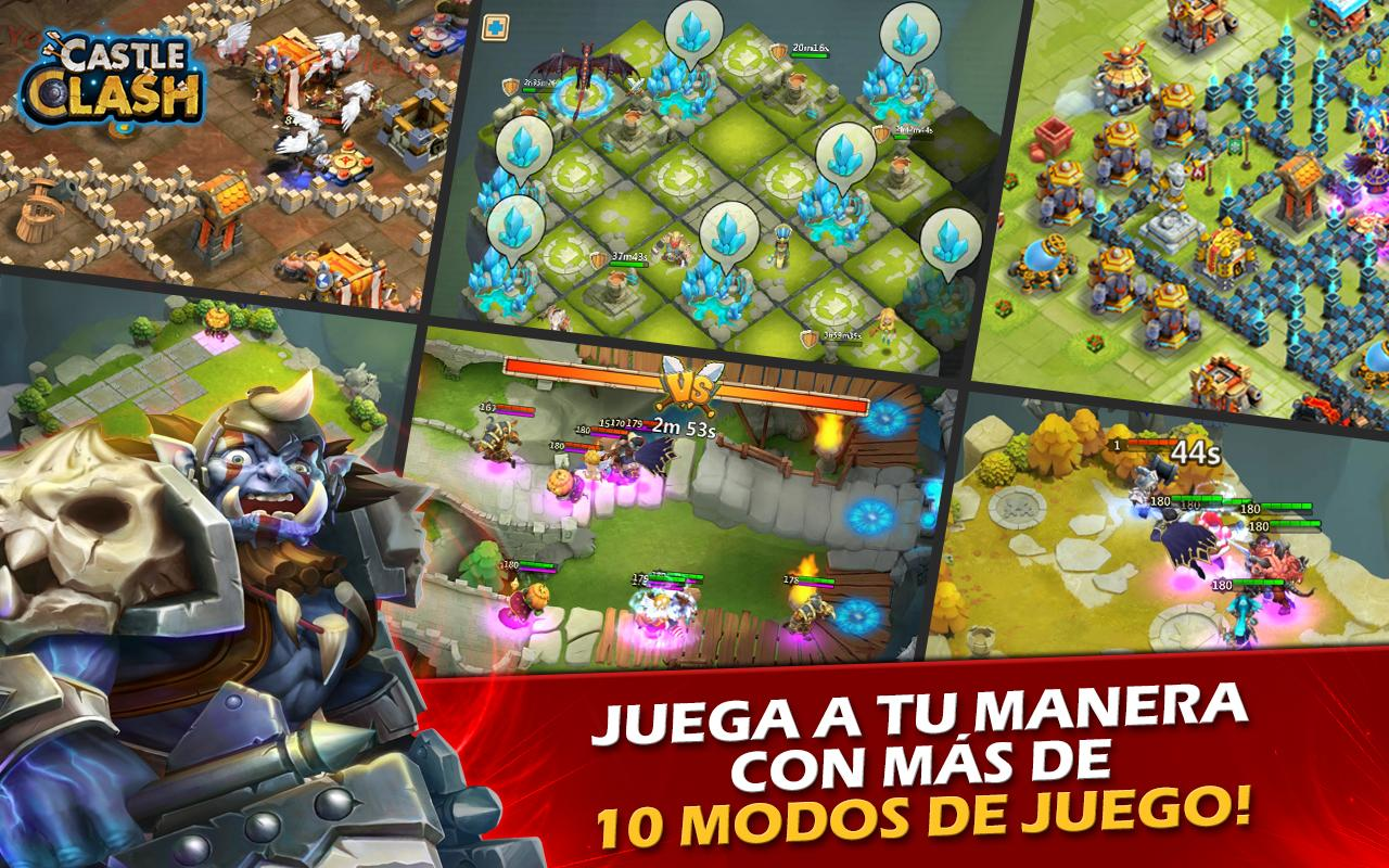 Castle Clash: Era de Leyendas Screenshot 0
