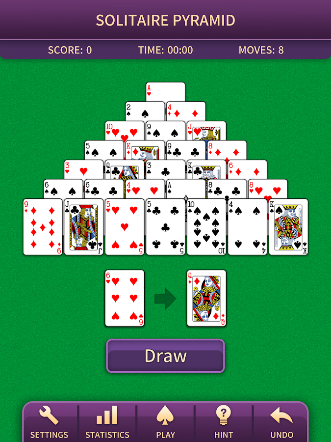 Pyramid Solitaire Screenshot 10