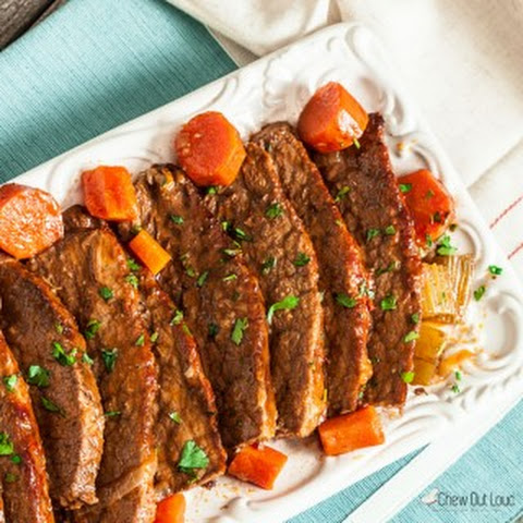 Tender Braised Brisket