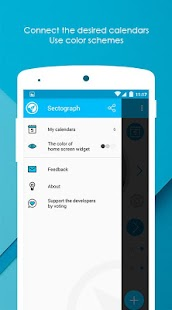 S.Graph: Calendar clock widget APK for Bluestacks