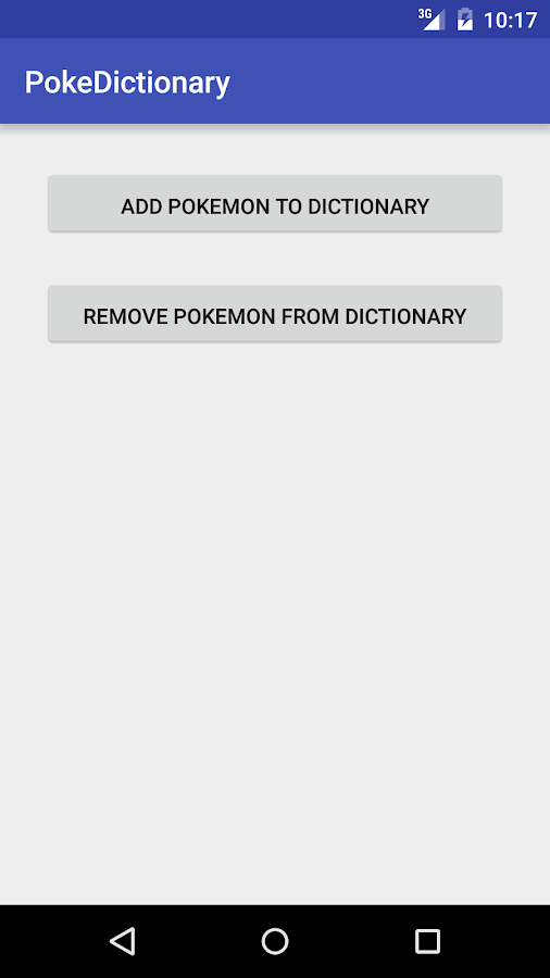 PokeDictionary Screenshot 0