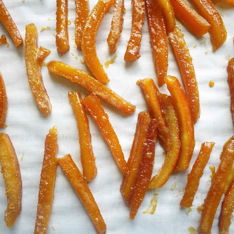 Paleo Candied Orange Peels (GF)