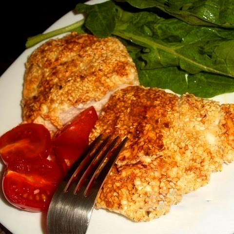 Chicken Breast In Sesame Breading