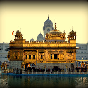 Waheguru by Jatin Malhotra - Buildings & Architecture Places of Worship ( temple, punjab, asr, amritsar, golden )