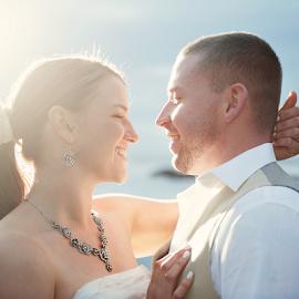 by Melissa Papaj - Wedding Bride & Groom ( wedding photography, oregon wedding, wedding, ocean, beach, wedding photographer, utah wedding photographer, california wedding, destination weddings )