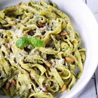 Garlic Basil Tagliatelle Recipes