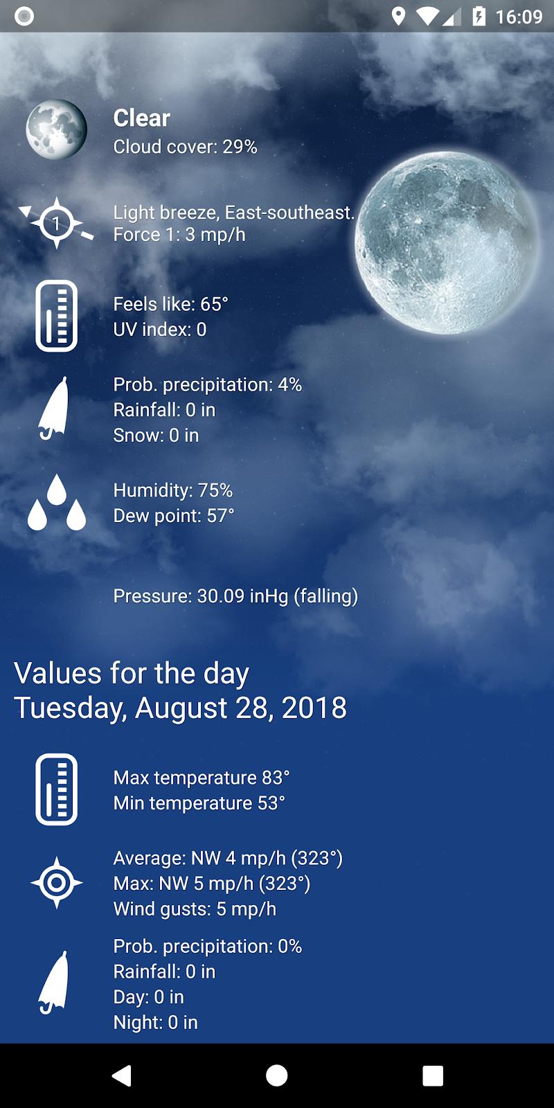 Weather XL PRO Screenshot 2