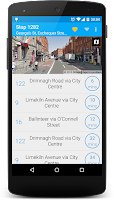 Screenshot of Next Bus Dublin