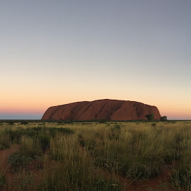 Ayers Rock by Jill Wilson - Instagram & Mobile iPhone