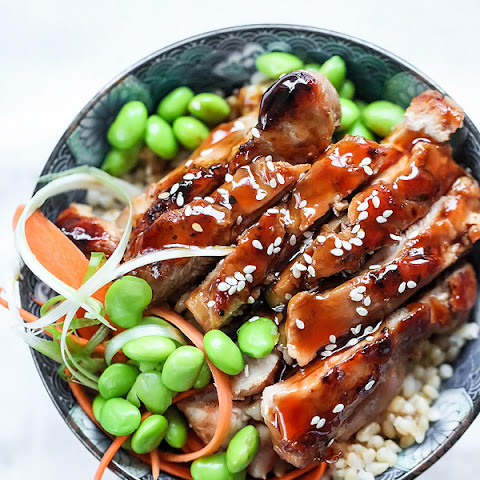 7 Spice Teriyaki Chicken Rice Bowls