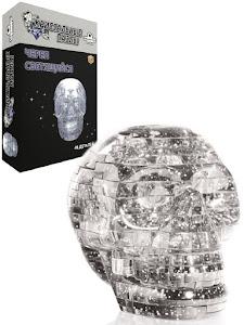3D Crystal Puzzle Череп L New