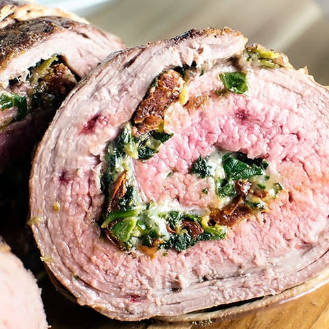 Baked Stuffed Flank Steak