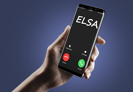 Call From Elsa Prank