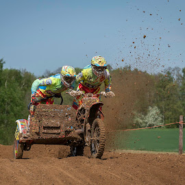 Sidecar by Nick Vanderperre - Sports & Fitness Motorsports ( de korrel nog, 2018, bertem, website, motorcross )