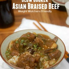 Weight Watchers Slow Cooker Asian Braised Beef