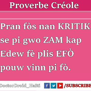 Proverbe Haitien for Android