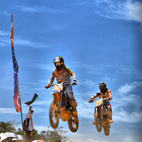 follow me by Handy Nordy Fariza - Sports & Fitness Motorsports ( bike, jumping, motorcross, action, sports )