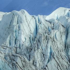 Glacier Up Close by Patricia Phillips - Nature Up Close Other Natural Objects ( alaska glaciers matanuska )