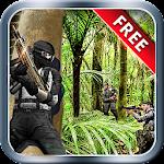Commando Adventure Shooting Icon