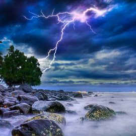 The Flash by Gilbert Sanchez - Landscapes Weather