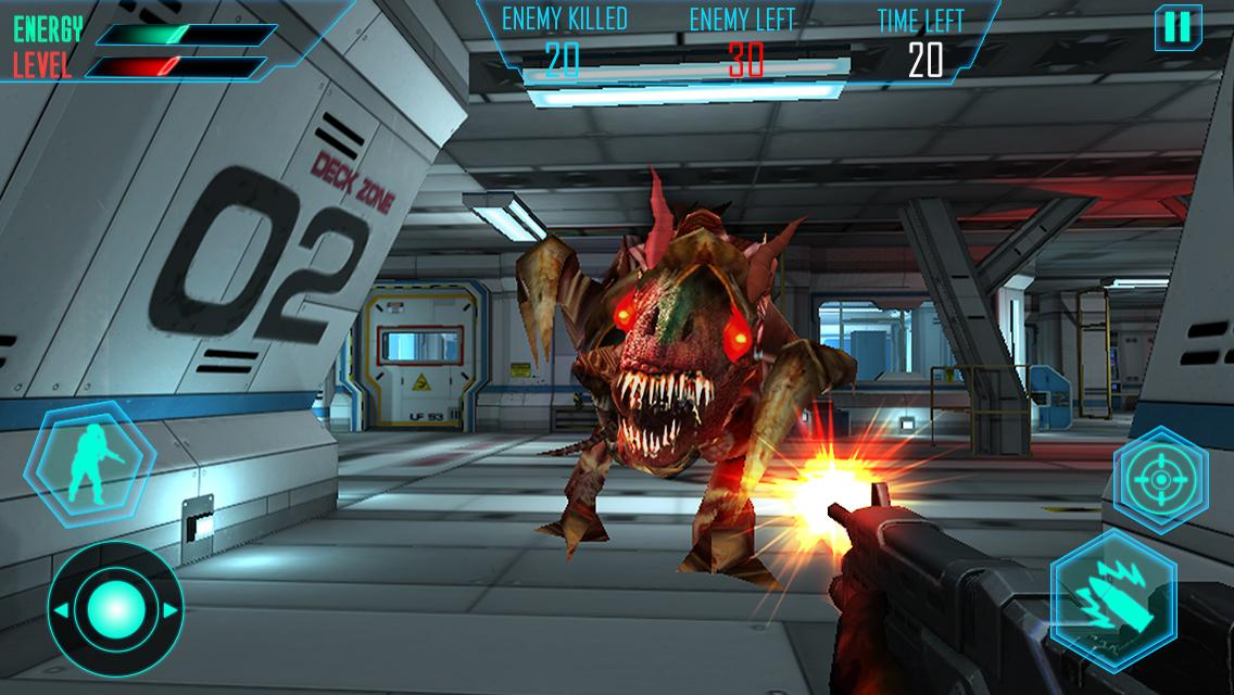 Alien Space Shooter 3D Screenshot 11