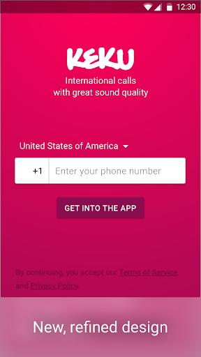 Free Call Recorder, Virtual Numbers, Int'l Calls screenshot 1