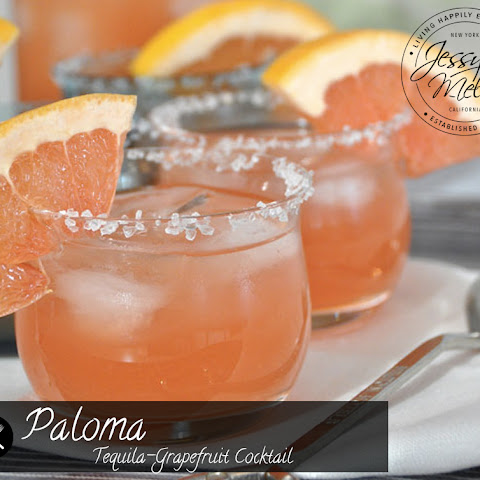 Paloma - Tequila-Grapefruit Cocktail