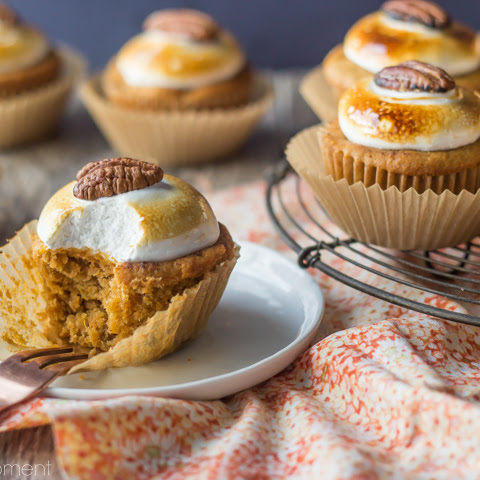 Sweet Potato Souffle Cupcakes