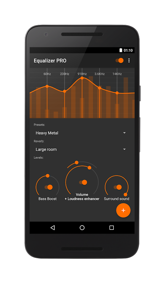 Equalizer - Bass Boost Screenshot