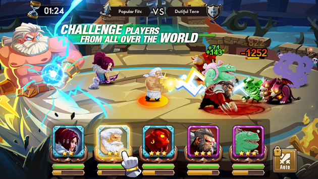 We Heroes - Born To Fight APK screenshot thumbnail 3