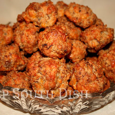 Old Fashioned Sausage Cheese Balls