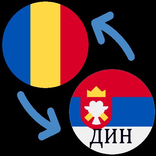 Android aplikacija Румунски леу на српски динар / РОН у динарима na Android Srbija