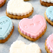 Beautiful Iced Biscuits