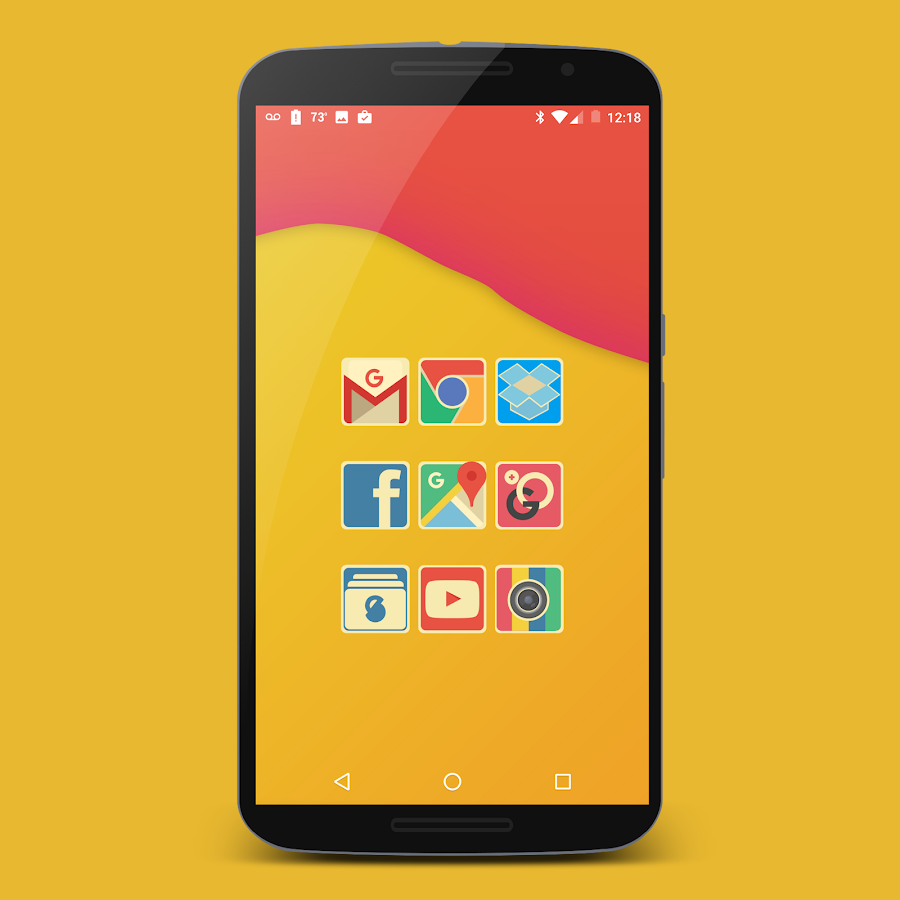 Retrofit Icon Pack Screenshot 3