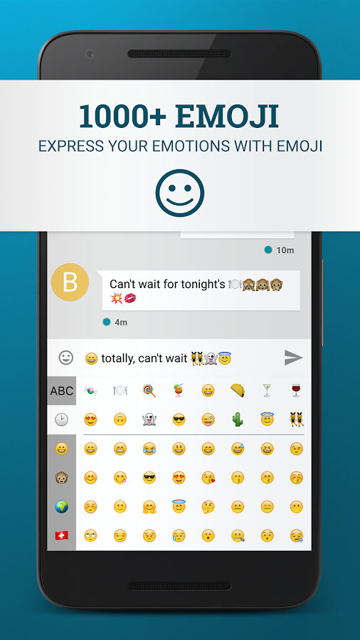 WRIO Keyboard (+2500 emoji) Screenshot 3
