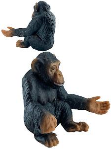 "Игрушка-фигурка серии ""Город Игр"", шимпанзе M2, сидит"