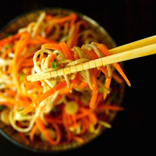 Ginger-Carrot Soba Noodles