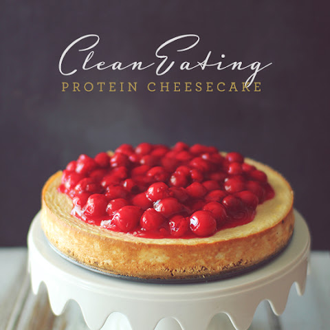 Clean Eating Protein Cheesecake