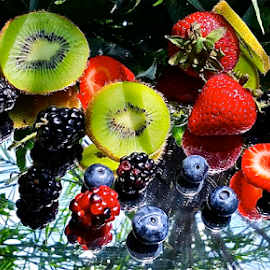 Fruits from the gardens ~ Under The Palm tree ~ 21 July }  by Jeffrey Lee - Food & Drink Fruits & Vegetables ( fruits from the gardens ~ under the palm tree ~ 21 july )